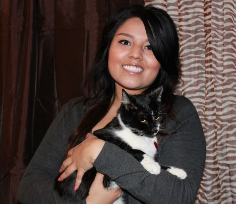 Joy Reyes considered herself an amateur cat rescuer until she ran across a home with 40 feral cats.
